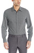 Perry Ellis Men's Non Iron Exclusive Geo Print Shirt