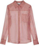 Milly Silk-Organza Shirt