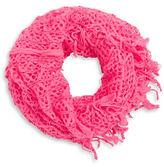 Capelli New York Honeycomb Knit Infinity Scarf