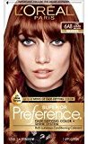 L'Oreal Superior Preference Fade-Defying Color + Shine System, 6AB Chic Auburn Brown(Packaging May Vary)