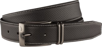 Nike Men's Pin Dot Embossed Belt with G Flex