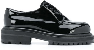 Just Cavalli Round-Toe Lace-Up Shoes