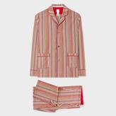 Paul Smith Men's Signature Stripe Cotton Pyjama Set