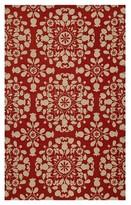 Nobrand No Brand Hampton Wool Accent Rug - Red (2' X 3')