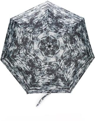 White Mountaineering Camouflage-Print Umbrella