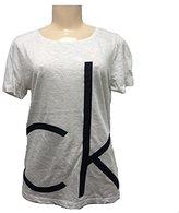Calvin Klein Jeans Women's Frayed CK Tee