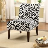 Acme Aberly Zebra Pattern Accent Chair