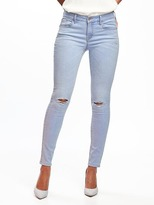 Old Navy Mid-Rise Distressed Rockstar Jeans for Women