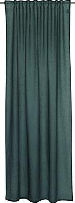Camilla And Marc Schöner Wohnen 100 Percent Polyester Curtain with Hidden Loops, dark grey, 250 x 130 cm