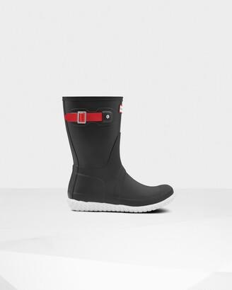 Hunter Women's Original Flat Heel Calendar Sole Short Rain Boots
