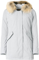 Woolrich classic padded coat - women - Feather Down/Polyamide/Polyester - S