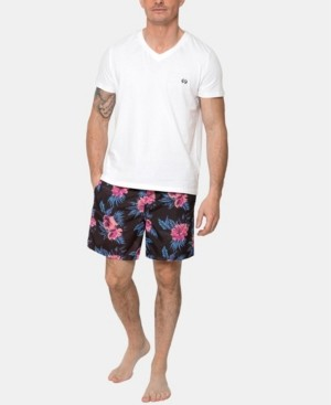 Coast Clothing Co Bold Hibiscus Fuchsia Board Shorts