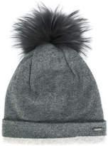 Woolrich pom-pom beanie hat