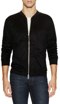BLK DNM Front Zip Up Sweatshirt
