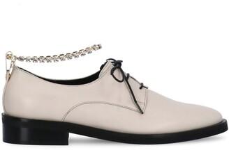 Coliac Jewel Embellished Lace-Up Shoes