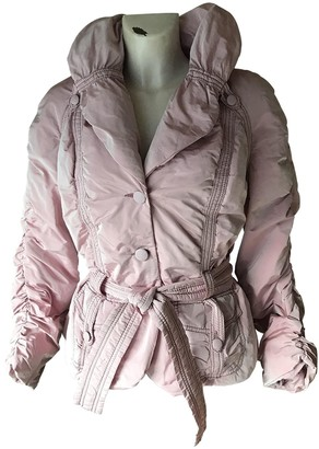 Ungaro Pink Polyester Leather jackets