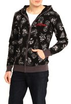 Ed Hardy Tattoo Mens Zip Up Hooded Sweater