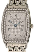 Breguet Heritage 8671BB All Diamond 18k White Gold Automatic 25mm x 30mm Watch
