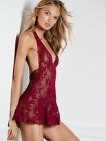 Very Sexy Lace Halter Babydoll