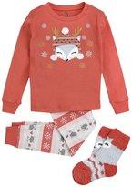 Petit Lem 3 Piece PJ Set (Toddler/Kid) - Multicolor - 5