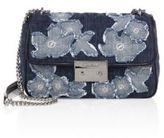 MICHAEL Michael Kors Sloan Large Chain Denim Shoulder Bag