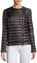 Moncler Amy Quilted Collarless Jacket