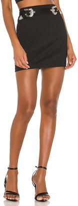 superdown x Draya Michele Kodie Buckle Skirt