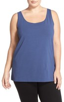 Nic+Zoe 'Perfect' Scoop Neck Tank (Plus Size)