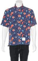 Thom Browne Swordfish Print Swim Shirt w/ Tags