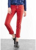 S'Oliver Slim Fit Cotton Mix Cigarette Trousers