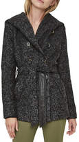 Vero Moda Faux Leather Belted Coat