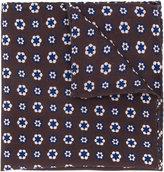 Lardini flower print pocket square