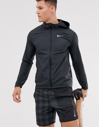 Nike Running Essentials jacket in black