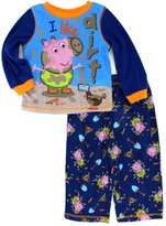 Peppa Pig Nickelodeon George Likes Dirt Toddler Pajamas for boys (2T)