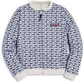 Vineyard Vines Girls' Printed & Faux-Fur Reversible Sweater - Big Kid