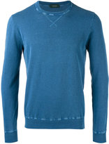 Zanone crew neck jumper - men - Cotton - 48