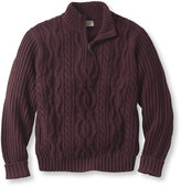 L.L. Bean Shipwright Mix-Stitch Sweater