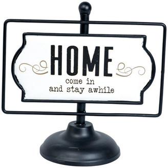 "American Mercantile Metal Sign ""Home"""