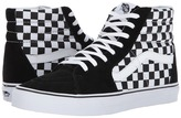 Vans SK8-Hi Black/True White 1) Skate Shoes