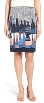 Nic+Zoe Petite Women's Spring Bottles Skirt