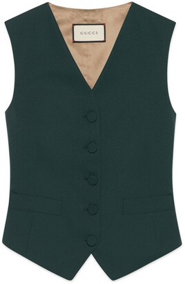Gucci Fluid drill formal vest