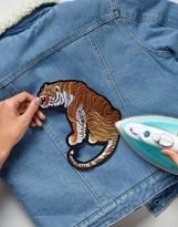 Orelia Large Tiger Embroidery Badge