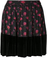 McQ by Alexander McQueen floral print mini skirt