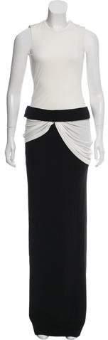 Alexander McQueen Sleeveless Evening Gown w/ Tags