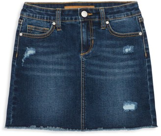 Joe's Jeans Girl's Stretch Denim Skirt