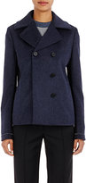 Paco Rabanne Women's Double-Breasted Peacoat-NAVY