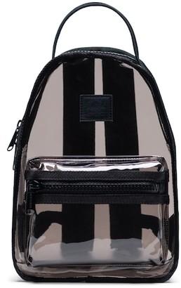 Herschel Mini Nova Clear Backpack Black Smoke