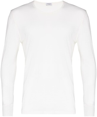 Zimmerli crew neck long-sleeve T-shirt