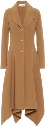 J.W.Anderson Asymmetric wool coat