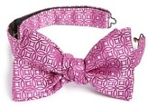 Eton Men's Medallion Silk Bow Tie